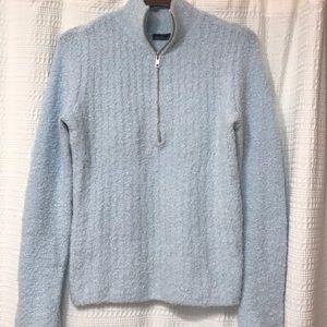 Victoria's Secret Moda Boucle Half Zip Sweater